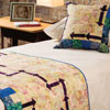 Around the House -- GPS Bed Runner & Pillow