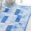 Let It Snow -- Winter Blues Table Runner