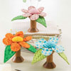 Little Packages -- Wooden Spool Flower Pincushion