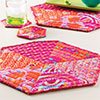 Little Packages -- Mega Hexie Place Mat & Coaster ...