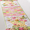 Around the House -- Flower Basket Table Runner