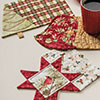 Small & Scrappy -- Christmas Mug Rug Set