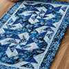 Around the House -- Winter Batik Runner