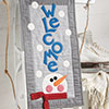 Small & Scrappy -- Winter Welcome Wall Hanging