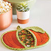 Little Packages -- Pumpkin Pot Holder