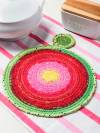 Creative Pieces -- Rosy Hot Pad