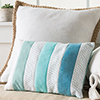 Creative Pieces -- Soothing Blues Pillow