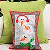 Snowman Stack Pillow